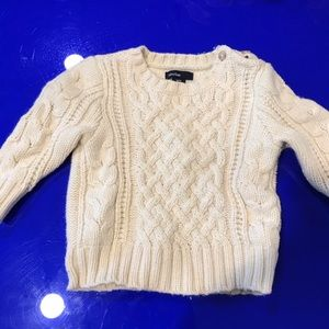 Baby Gap cable knit sweater 6-12 m